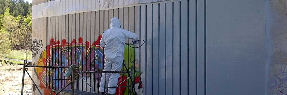 Anti Graffiti Coatings Gmw Restoration Servicesgmw