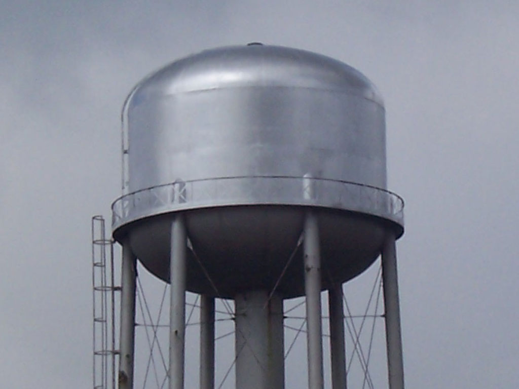 Guelph Water Tower Painting Gmw Restoration Servicesgmw Restoration Services