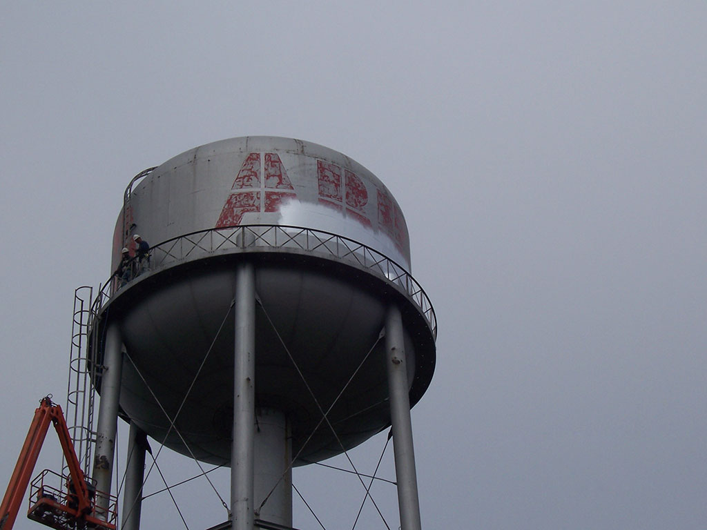 Guelph Water Tower Painting Gmw Restoration Servicesgmw