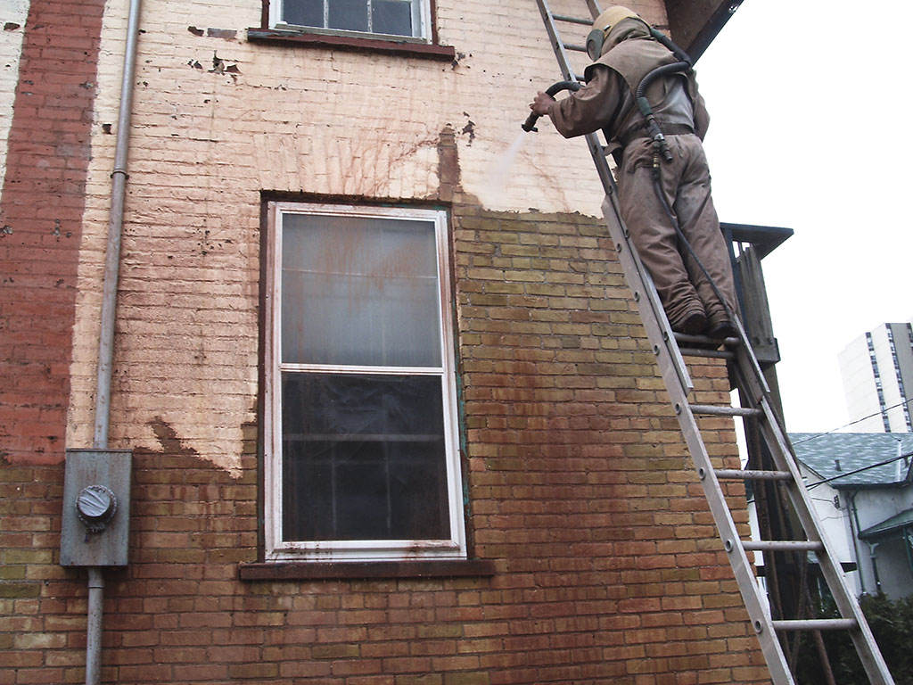 Kitchener House Sandblasting Gmw Restoration Servicesgmw